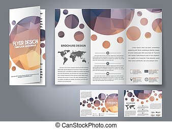 template design three fold flyer brochure design tri fold flyers