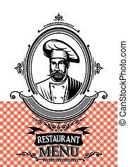 template for a restaurant menu