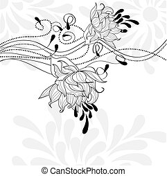 Template for decorative card