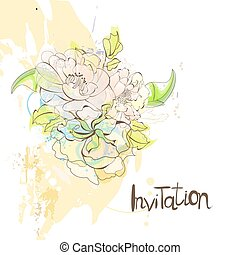 Template for invitation