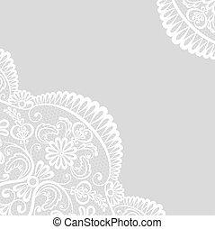 lace border