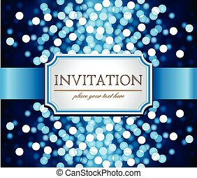 Template frame design for Invitation