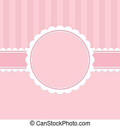 Template greeting card.
