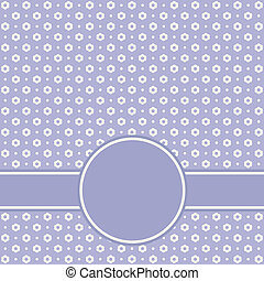 Template greeting card. Vector.