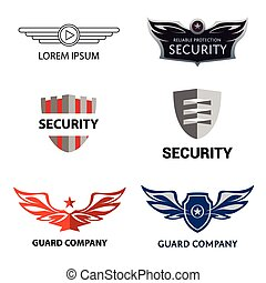 Template logo for security organization