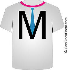template-, m, t, brief, hemd