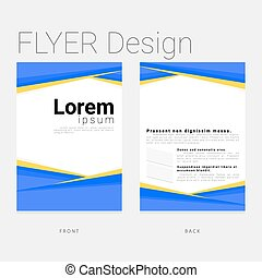 template modern design for business
