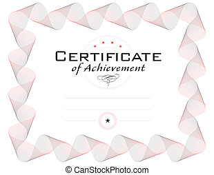 template of diploma or certificate