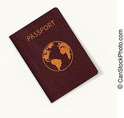 Template of passport