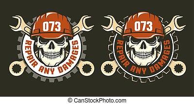 repair service logo