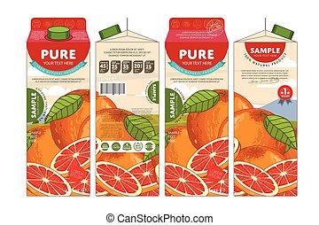 template packaging design pomegranate juice pomegranate juice