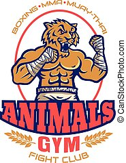 logo for fighting club