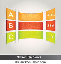 Template vector eps10 illustration