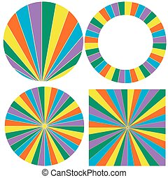 template wheel of fortune - pattern wheel elements to build...