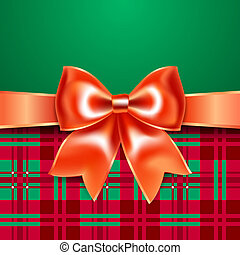 Template with ribbon bow