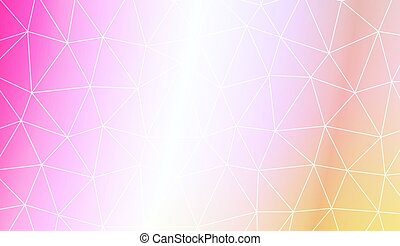 Template with triangles. Soft Color Gradient Background....