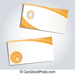 Templates for corporate style, business cards