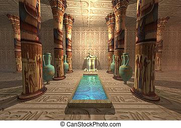 temple, égyptien