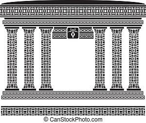 temple., ファンタジー, 二番目に, 変形
