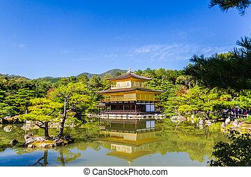 temple., 寺院, kinkakuji, 金