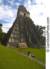 temple 1 tikal - temple #I tikal guatemala temple of the ...