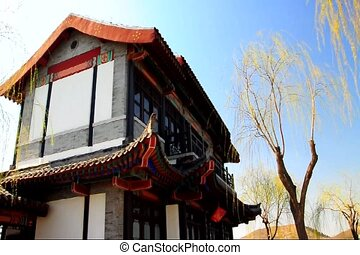 temple 2 - A temple outside in jinan china