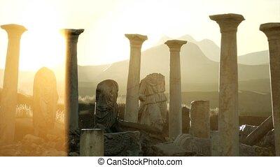 temple, 8k, grec, ancien, italie