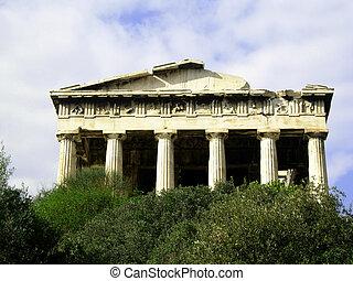 Temple Agora Athens