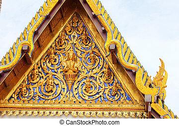 temple bouddhiste, bangkok, thailand.