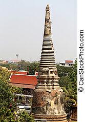 temple bouddhiste, dans, thaïlande