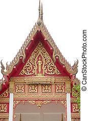 temple bouddhiste, thailand.