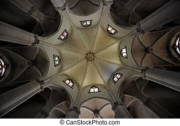 Temple del Sagrat Cor in Barcelona, Spain