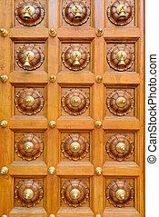Temple door bells in india Hindu temple