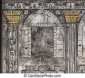 Temple Door In Jerusalem