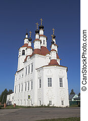 Temple Entrance of the Lord into Jerusalem in Totma, Vologda Region