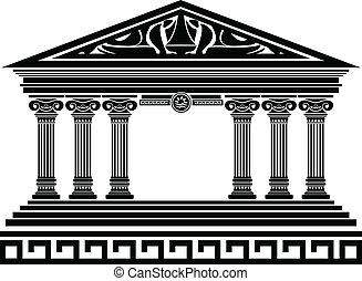 temple., fantasi, variant, femte