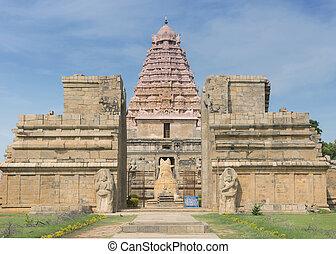 temple., gangaikunda