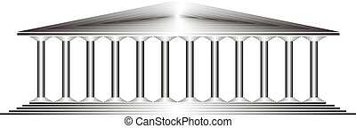 temple, grec