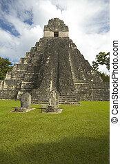 temple I tikal - temple #I tikal guatemala temple of the...