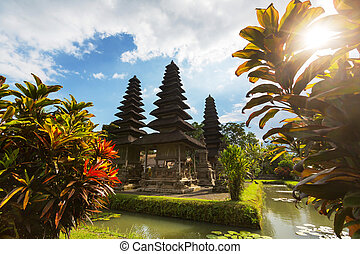 Temple in Bali - Country temple in Bali