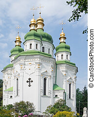 Temple in capital of Ukraine- Kiev city.