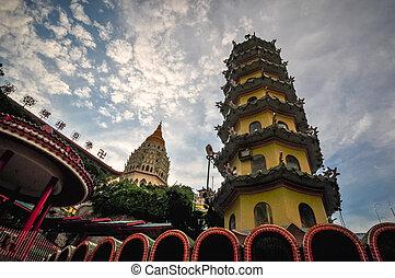 Temple in George Town, Penang, Malaysia 2011