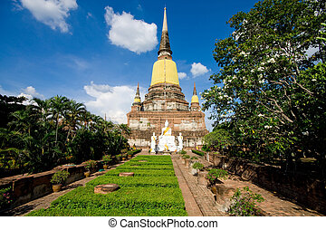 Temple in Thailand - Ayutthaya Historical Park in Thailand