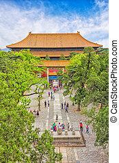 Temple in the Forbidden City, Beiji