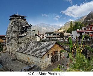 Temple in the Gopeshwar