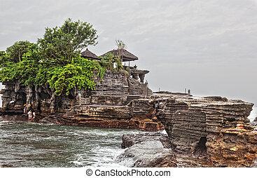 Temple in the sea( Pura tanah lot), Bali, Indonesia