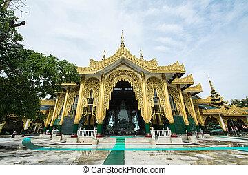 Temple Kyauk Taw Gyi Pagoda in Yang