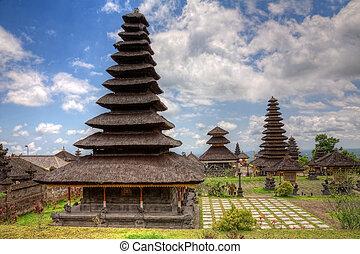 temple mère, bali, besakih