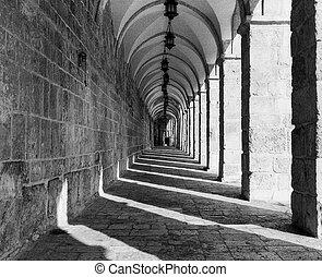Temple Mount Corridor