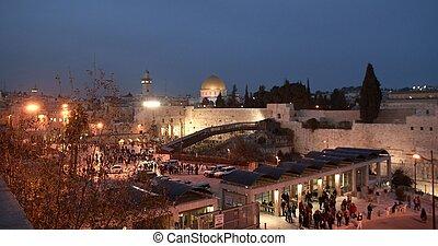 Temple mount view in Jerusalem Israeli capital